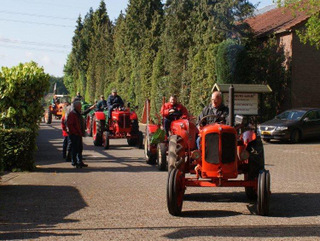 Toertocht oude tractoren